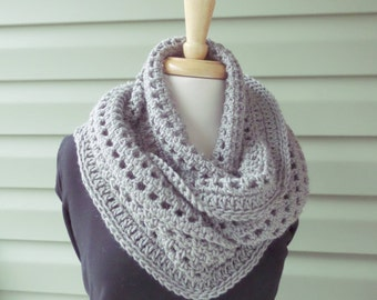 Infinity Scarf - LEAH - Custom Colors - Free Shipping
