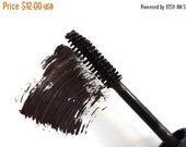 DISCONTINUED Vegan Brown Mascara Handmade for Everyday Use, Natural, Paraben Free, Cruelty Free, Gluten Free, BRW01HVC