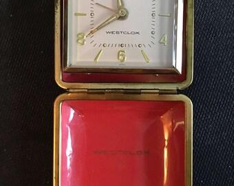 Vintage Westclox Travel Alarm