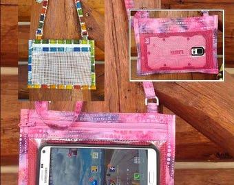 Hold The Phone! Crossbody Smartphone Case in Draw Near Paint Palette J Wecker Frisch