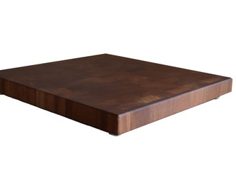 Cutting Board End Grain African Mahogany