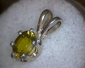 Beautiful Chrysoberyl Pendant