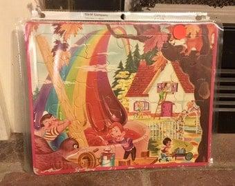 Vintage Children's Puzzle