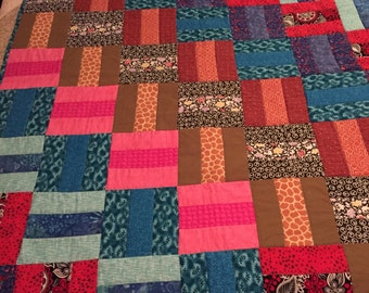 Warm and Fuzzy Throw Quilt
