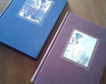 1945 Grimm And Andersen's Fairy Tales 2 Volume Set