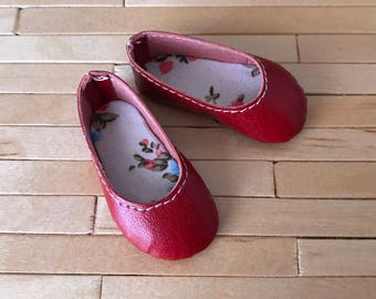 Básic Shoes Red for Minifee Moe on Box