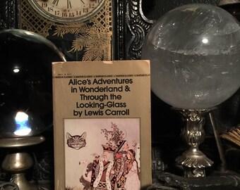 ALICE'S ADVENTURES in WONDERLAND old paperback c. 1981 at Gothic Rose Antiques