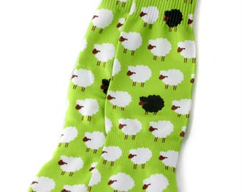 Baa Baa Black Sheep Socks
