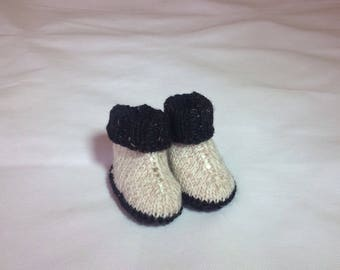 Baby knitted shoes/knitted Ugg  boots