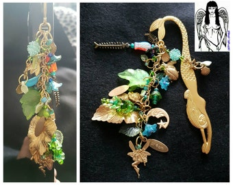 Sale was 25 now 22uk Mermaid and Fairy Book Mark