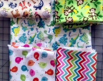PUL Remnants - Assorted Patterns and Colors - Dog Belly Bands - Preemie Diapers