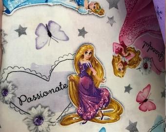 Custom Boutique Pillowcase Dress Pretty Princess Fabrics, Cute for Disney vacation