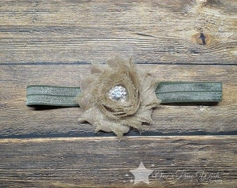 Army baby girl headband, military baby, baby headband, infant headband, newborn headband, baby girl, newborn girl, infant girl, hair clip