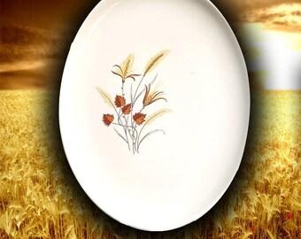 "Taylor-Smith-Taylor 10 x 13-1/2"" Autumn Harvest Platter."