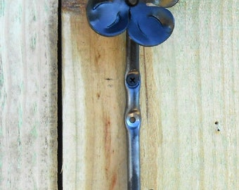 Dogwood flower hook Hand crafted by a blacksmith in the USA