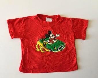 Vintage Mickey & Pluto Tee (2t)