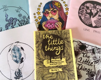 SALE Absolutely Everything Zine Pack