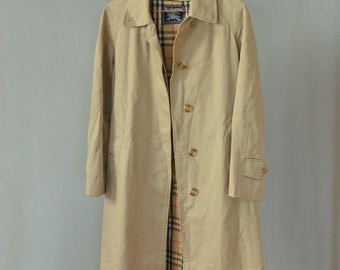 SALE Burberry Trench Coat Vintage 80's womens trench111111