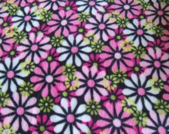 Pretty Flowers! Fleece Blanket