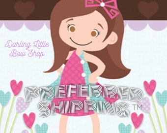 FREE SHIPPING -- Preferred Shipping Subscription -- Free US Shipping for 12 months on all orders