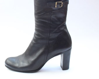 Vintage 90s Costume National Ankle Boots