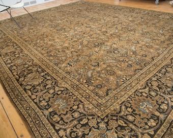 9.5x12 Vintage Meshed Carpet
