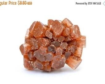 Aragonite Crystal Cluster (30mm x 23mm x 21mm) - Aragonite Druzy Stone - Raw Aragonite