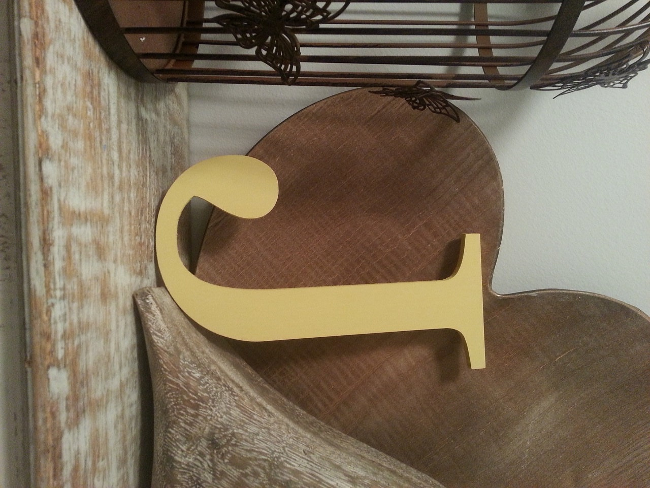 Large Letter J For Wall Painted Wooden Letter  Large J Times Roman Font 40Cm High 16