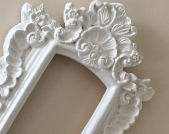 Gorgeous  Baroque Open Wall Frame  - Ornate Victorian Renaissance -  Heavy Molded Resin - Photo Prop