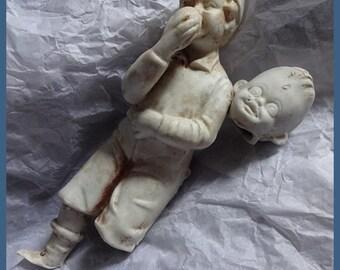 Broken Dolls, Broken Doll Heads, Bisque Doll Heads, Vintage Dolls, Antique Bisque Doll Heads