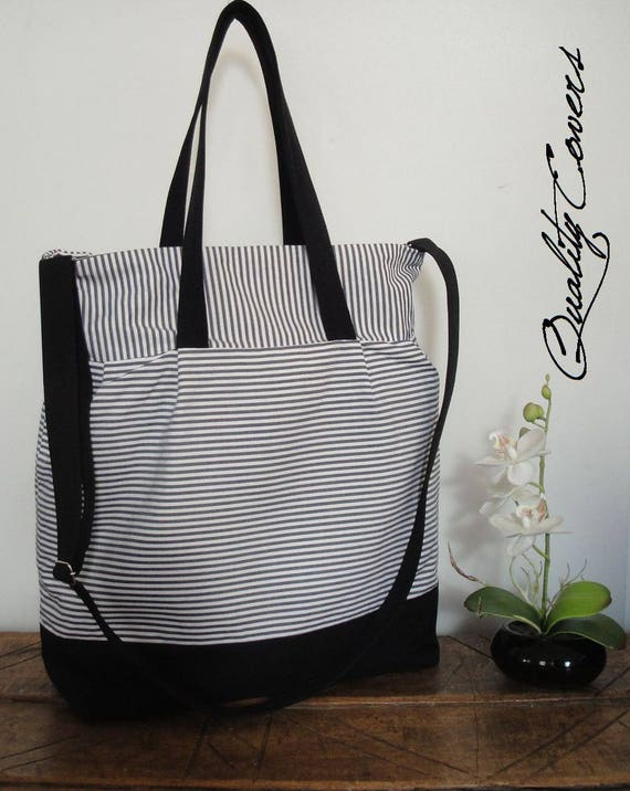 Customizable Laptop Bag for Color Fabric and Size- MESSENGER bag - TOTE Laptop - Waterproof lining - large interior Pockets- Diaper Bag