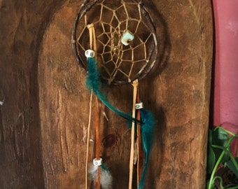 dream catcher, dreamcatcher, small, native inspired, boho dreamcatcher,