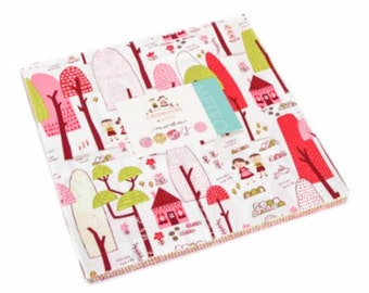 """Just Another Walk In The Woods from Moda - Layer Cake Precuts 42, 10""""x10"""" squares"""