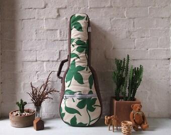 Concert ukulele  -  Japanese cotton ukulele case (Ready to ship)