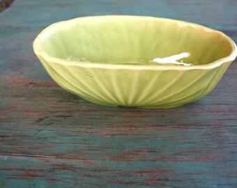 Minty Green USA Pottery Planter, Succulent Planter, Vintage Planter, Green Decor, Indoor Garden, Boho Planter