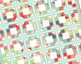 Sale Playing around quilt pattern by She Quilts A Lot