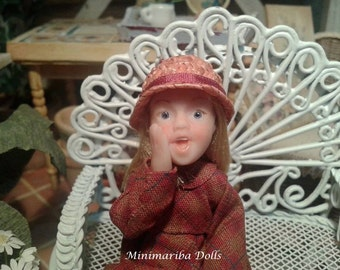 Minimariba Dolls - Little secrets dollhouse doll