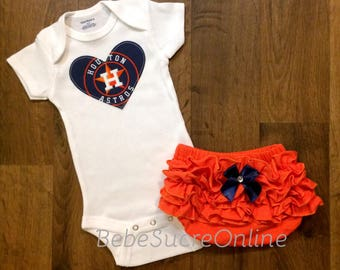 Houston Astros Girls Outfit