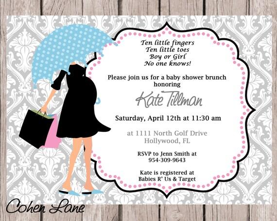 Printable modern mom baby shower invitation gender neutral baby il570xn filmwisefo