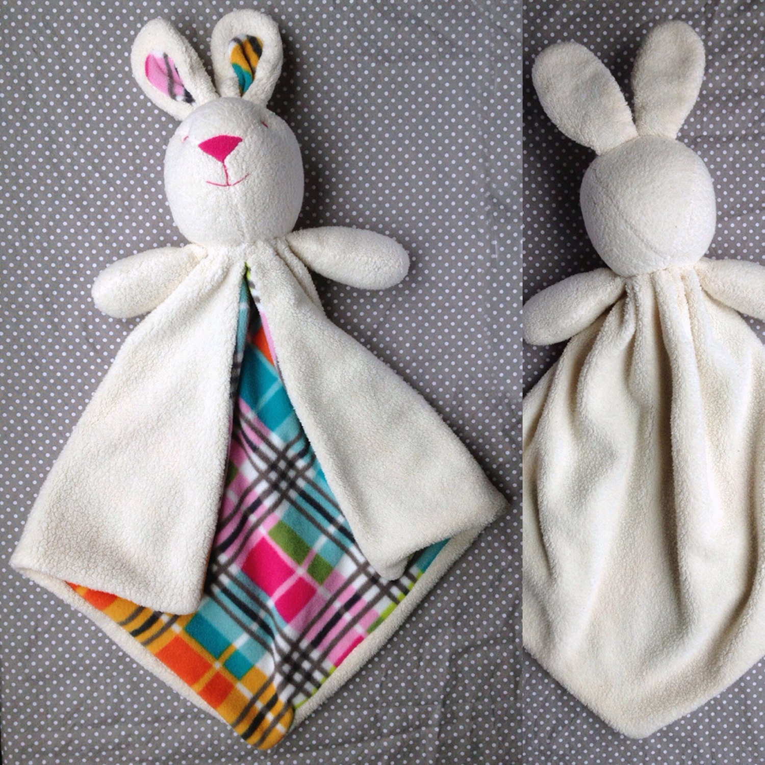 Bunny Lovey Baby Blanket Security Blanket Sewing Pattern