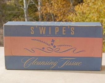 Mid Century Tissue Box Swipes