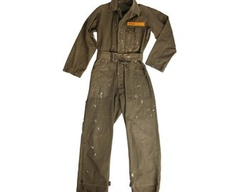 The Most Amazing Belted Flightsuit Ever
