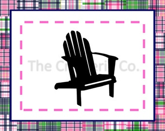 adirondack chair svg png download cutting files to use with