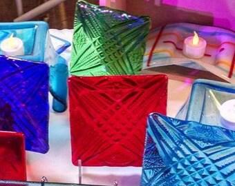 Glass Trivet Set