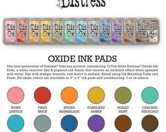 Tim Holtz Ranger Distress Oxide Ink Pads - All Colors - You Choose