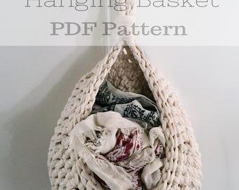 Multi Purpose Hanging Basket PDF Pattern