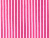 SHOP CLOSING SALE Fabric by the yard Michael Miller Clown Stripe in Girl 1 yard