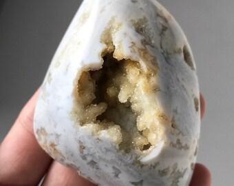 Beautiful Natural Drusy Stone Cabochon  51 x 62 mm