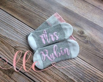 Women's Bride Socks, If You Can Read This Socks, Wifey To Be Socks, Funny Birthday Gift Present Wool Bride Socks, Wifey To Be, Gift,