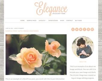 Elegance: Feminine WordPress Theme Built for Beginner and Intermediate Bloggers